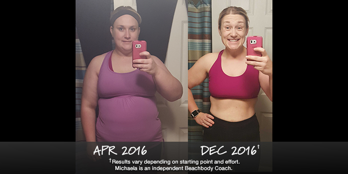 Beachbody Results: Check Out Michaela's Stunning 83 Pound Transformation