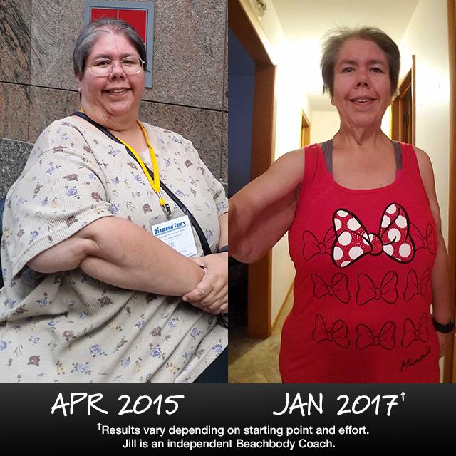 21 Day Fix Results: Jill Lost 148 Lbs. Despite Disability
