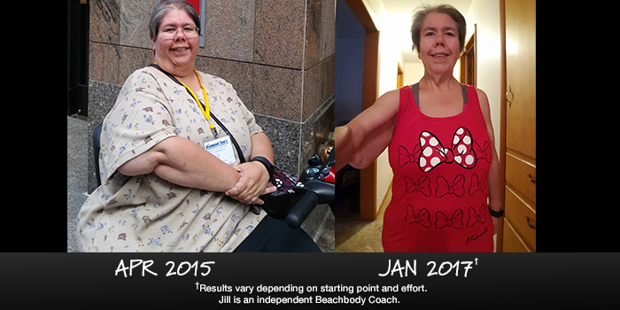 21 Day Fix Results: Jill Lost 148 Lbs. Despite Disability