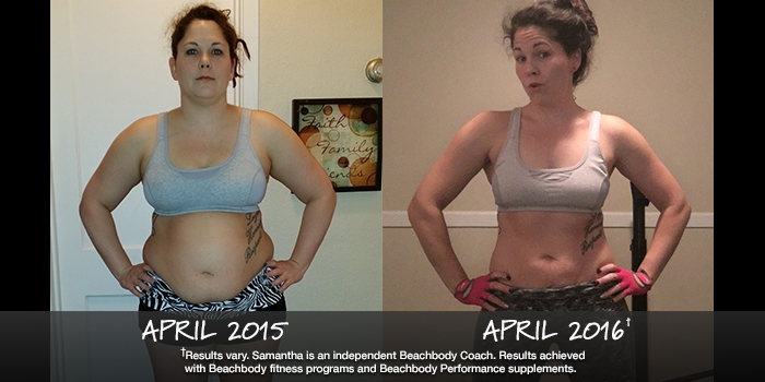 Beachbody Results: Samantha Lost 53 Pounds!