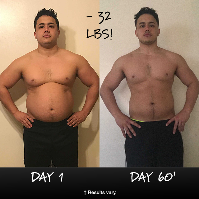 INSANITY Results: Juan Lost 32 lbs in 60 Days and Won $1,000!
