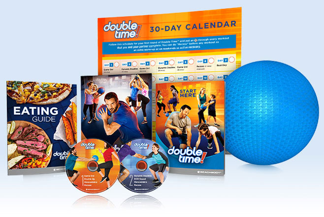 Double Time DVD Package