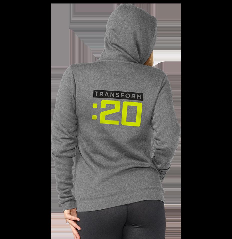 00f658a8d Transform :20 Fleece Zip Up Hoodie | Team Beachbody US