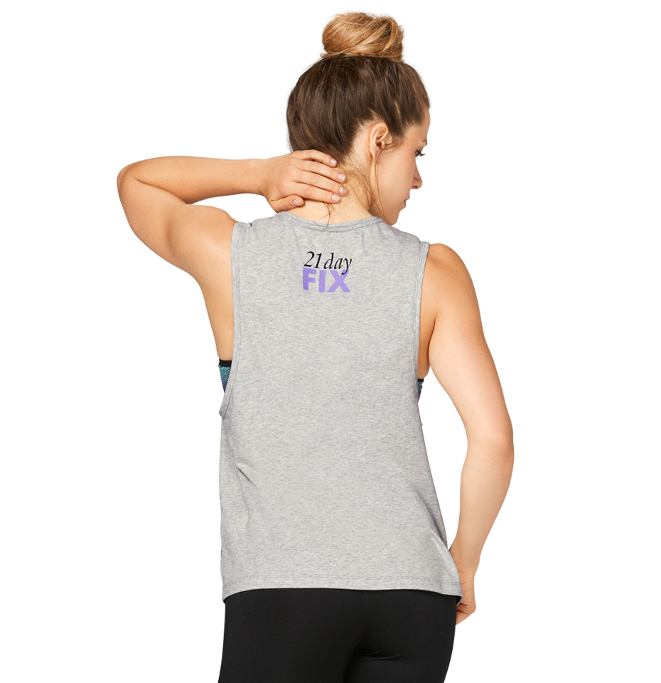21 Day Fix Classic Muscle Tank Dont Wish For It