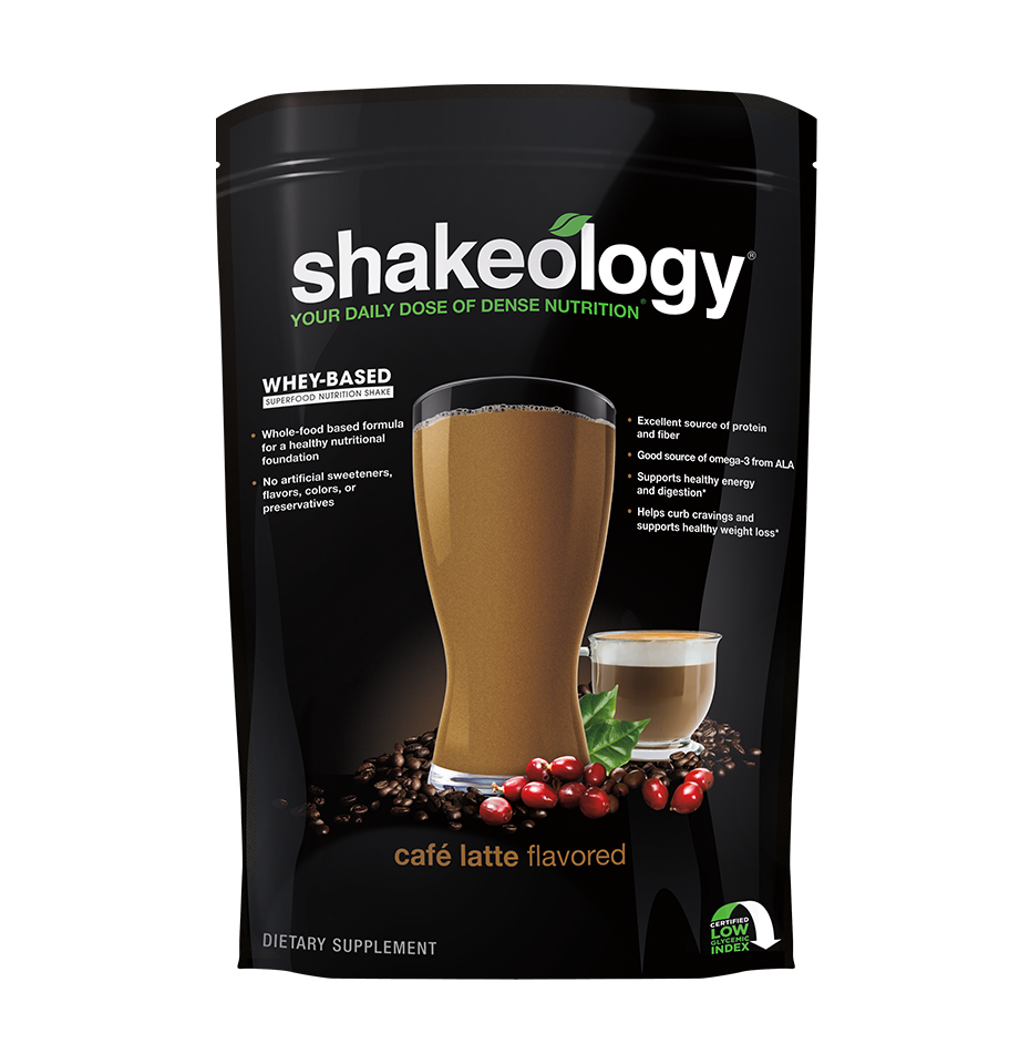 Cafe Latte Whey Shakeology Team Beachbody Us