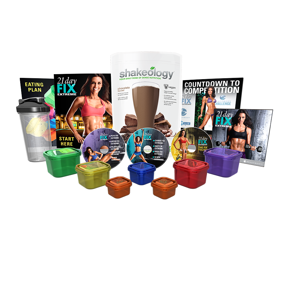 21 Day Fix Extreme Shakeology Challenge Pack Team Beachbody Us