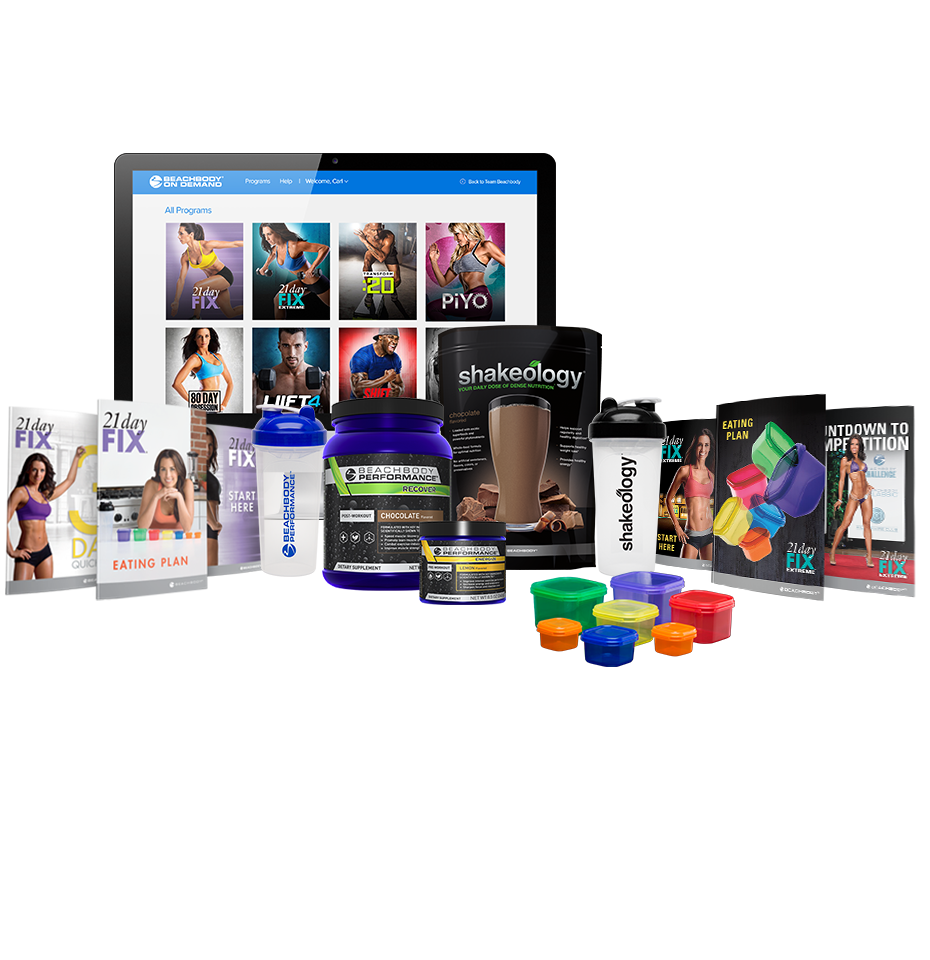 21 Day Fix & 21 Day Fix EXTREME Beachbody On Demand Deluxe