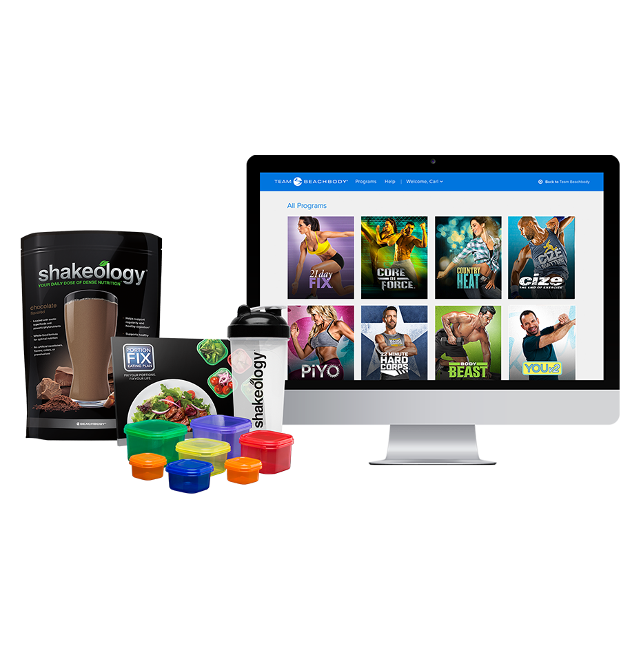 quarterly beachbody on demand shakeology challenge pack