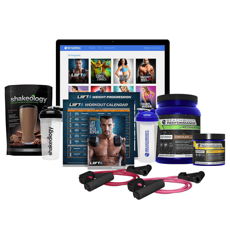 LIIFT4 Annual BOD Shakeology & Performance Deluxe CP | Team Beachbody US