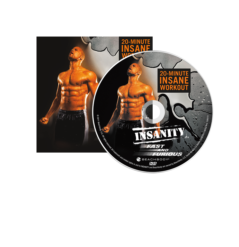 Fitness Beach Dvd: INSANITY Fast And Furious DVD