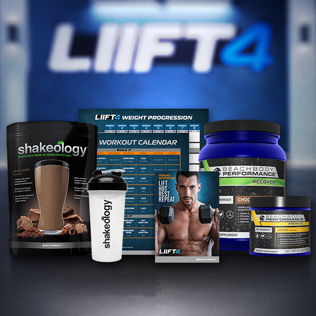 Shop LIIFT4 — Weightlifiting & HIIT Workout Program | Team Beachbody US