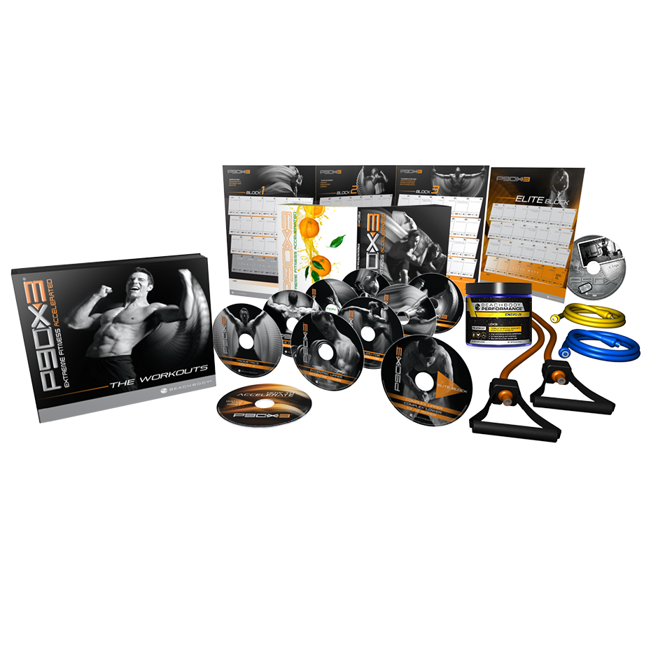 P90X3 Deluxe Kit | Team Beachbody US