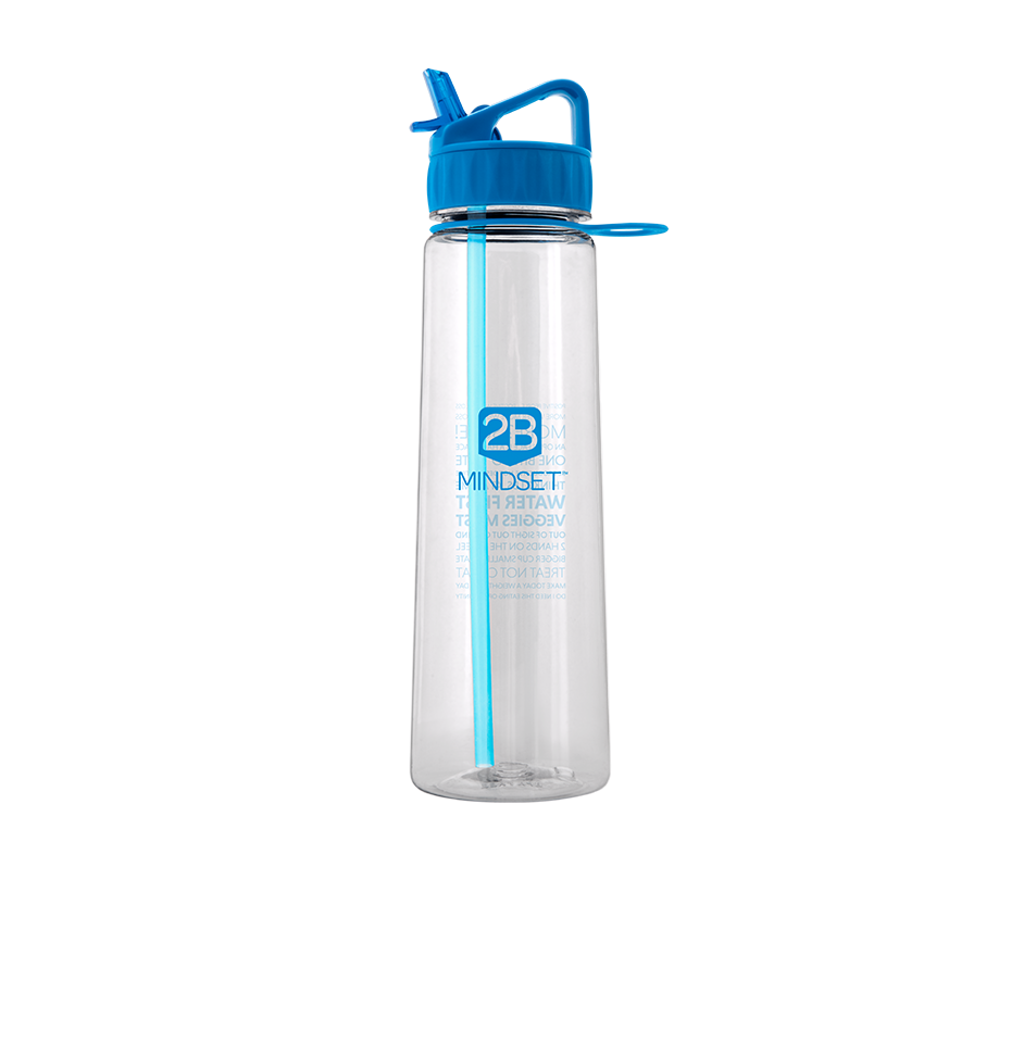 Water Bottle Volume: 2B Mindset Water Bottle