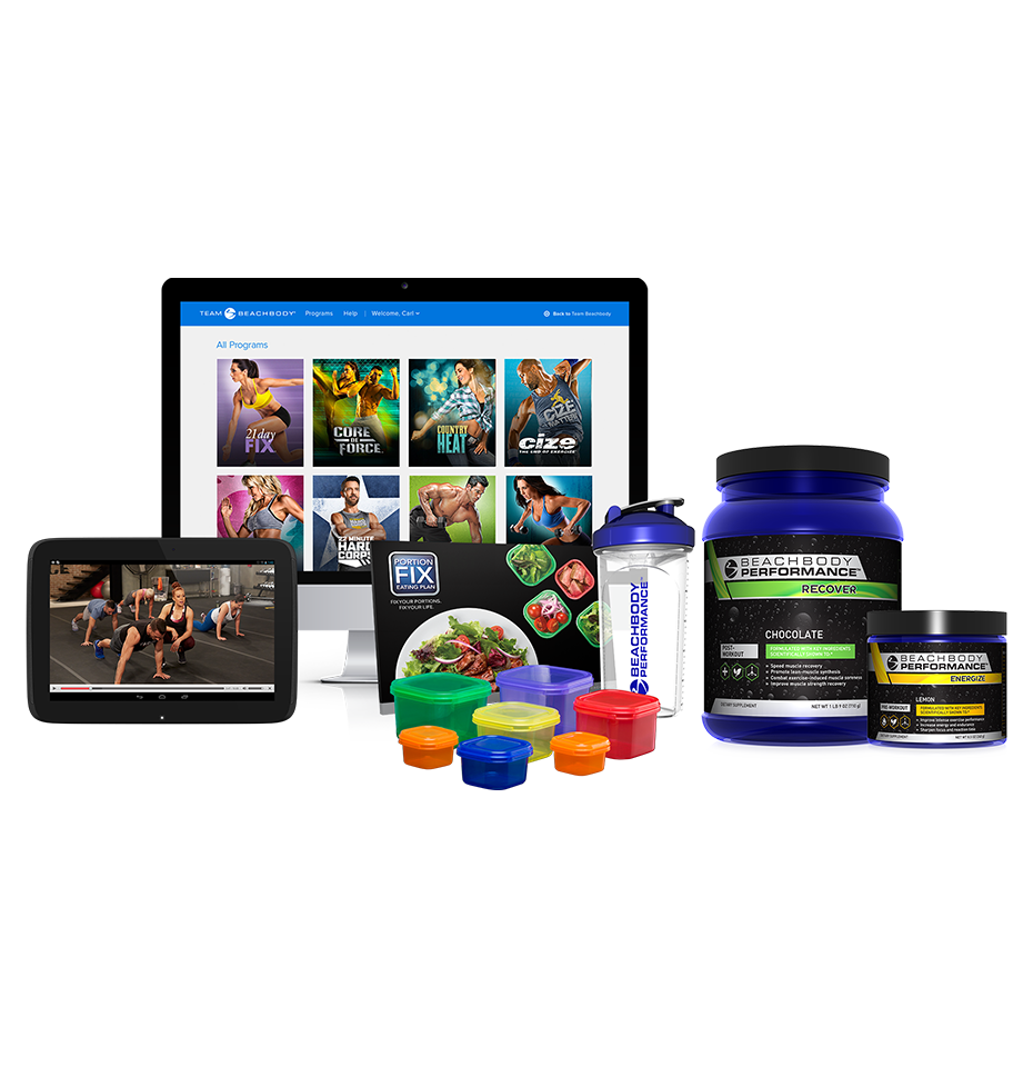quarterly beachbody on demand performance pack