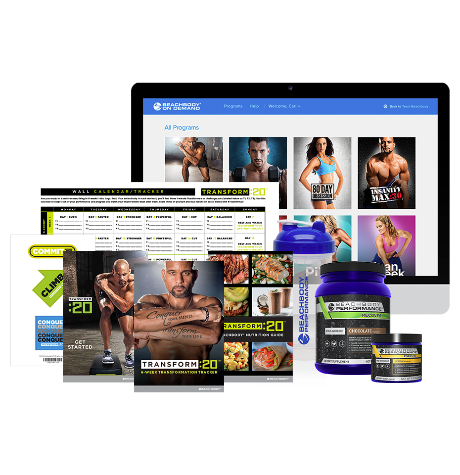 Transform :20 Annual Beachbody On Demand Performance Pack